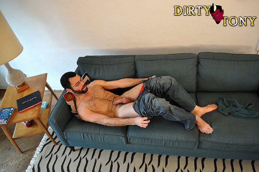 Tanned Stud Jerks Of On Audition