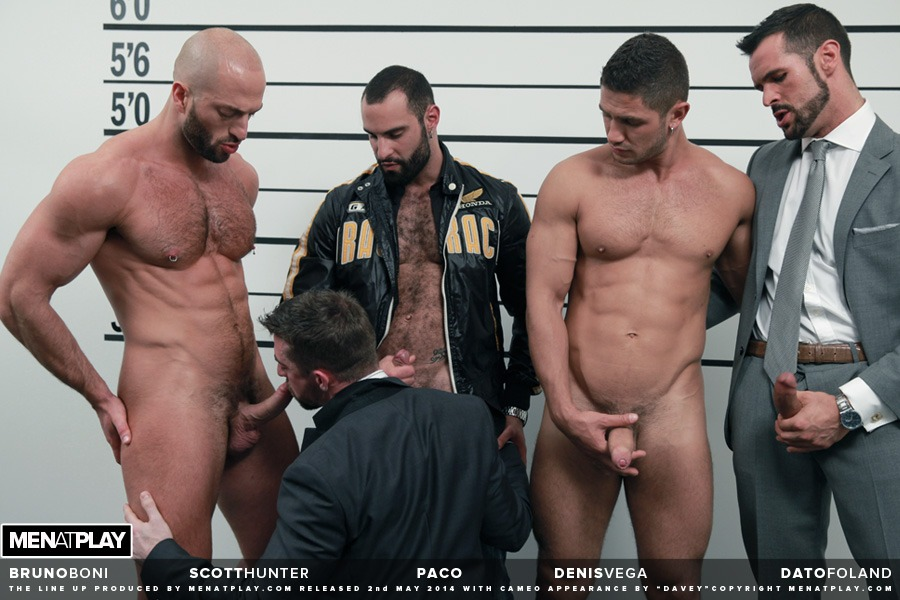 THE LINE UP GAY PORN FREE