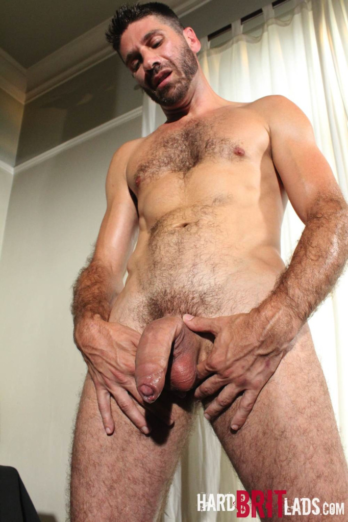 from King gay hard hairy cock