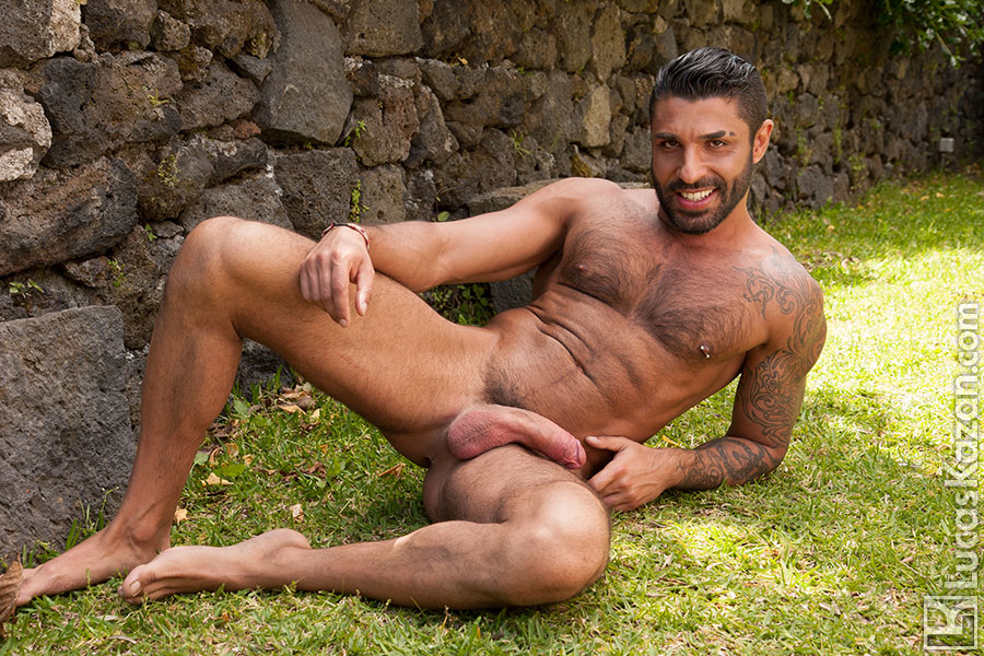 Naked hairy italian men