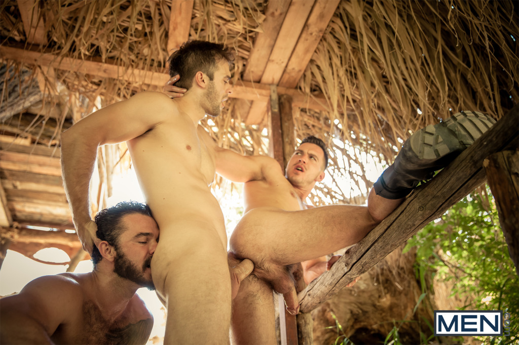 Gabriel Clark and Jessy Ares fuck Paddy O'Brian HowlPart2DMH19