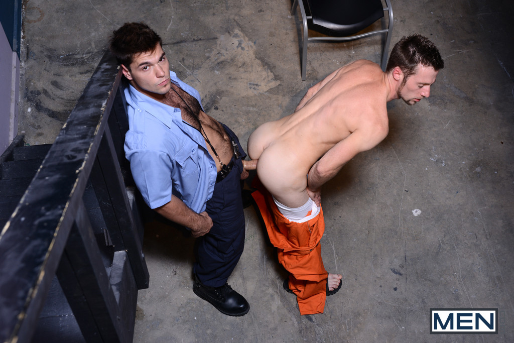 Officer Aspen fucks Kurt Wild 14