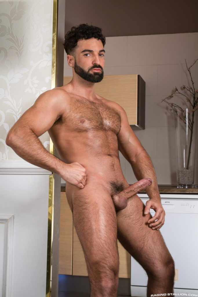 cock gay massage muscle