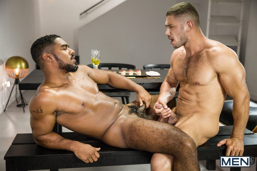 gay friends compare their cocks sleepover